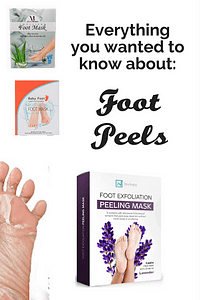 Everything you wanted know about foot peels