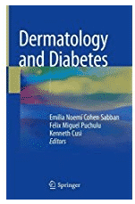 Dermatology and Diabetes-This book reviews the dermatological manifestations of Diabetes Mellitus, including a broad spectrum of conditions since the dysfunction of the cutaneous barrier, going through cutaneous infections in diabetics, dermatoses associated to Diabetes and manifestations related to Diabetes treatment.
