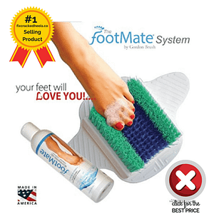 What a fantastic way to prevent cracked heels. It's one of recommended products to fix cracked heels
