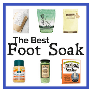 Foot soaks are an excelent way to fix pain in your feet