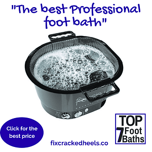 This is one of the top 7 foot baths. Footsie Bath Plus Pedicure Spa with disposable liners (10 ct) is a convenient all-in-one pedicure spa package that is ultra-lightweight, durable, and requires no installation or plumbing.